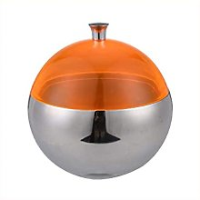 Small Ice Bucket - Stainless Steel Spherical Ice