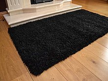 Small & Large Area Shaggy Rugs Thick Plain Shaggy