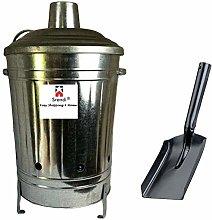 Small Medium Large 15L 60L 90L Litre Metal