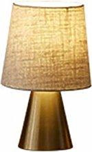 Small Metal Table Lamp Modern Minimalist Luxury