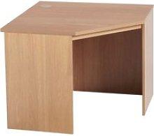 Small Office Corner Desk (Classic Oak)