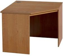 Small Office Corner Desk (English Oak)