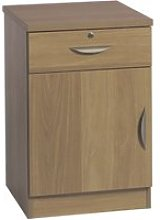 Small Office Deep Cupboard With Single Drawer,