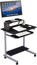 Small PC Computer Desk With Shelf PC Laptop Desk