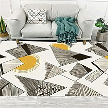 small rug for bedroom Yellow carpet,