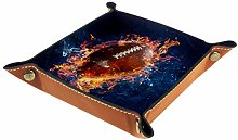 Small Storage Box,mens valet tray,American Rugby