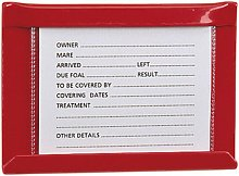 Small Stud Card Holder Spare Card (Small) (Red) -