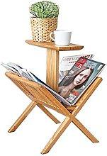 Small Table Living Room Floor Magazine Rack End