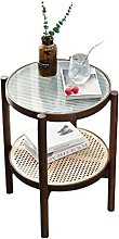 Small Table Modern Design 2 Tier End Table For
