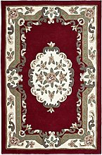 Small Traditional Classic Aubusson Floral 100%