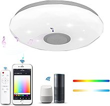 Smart App Control LED Ceiling Light, 36W Dimmable