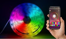 Smart Bluetooth LED Strip Lights: 1m/Two