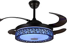 Smart Ceiling Fan Light with Bluetooth Music