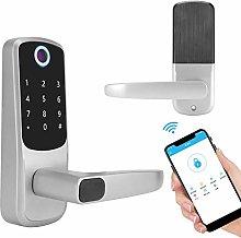 Smart Door Lock, 4 AA Batteries