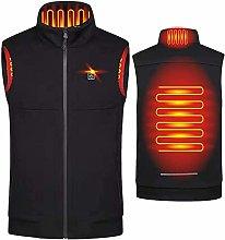 Smart Heated Vest Man USB Electirc 2 Zones Heating