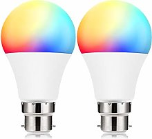 Smart Light Bulb B22, BrizLabs 9W LED WiFi Lamp