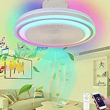 Smart Music Fan Ceiling Light, Quiet Ceiling Fans