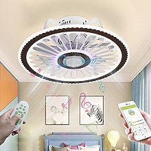 Smart Music Fan Light Ceiling Lamp with Bluetooth