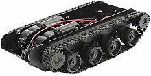 Smart Robot Tank Car Chassis Kit Rubber Track