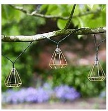 Smart Solar 10 Geo Shape Solar String Lights