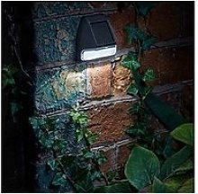 Smart Solar Fence Wall And Post Light (4 Pack)