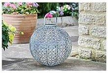 Smart Solar Jumbo Damasque Lantern