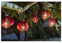 Smart Solar Ladybird 3.8M Solar String Light