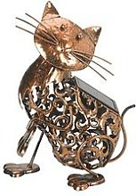 Smart Solar Metal Solar Cat Light