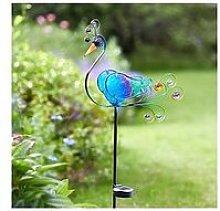 Smart Solar Peacock Solar Stake Light
