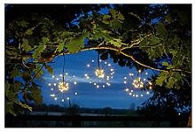Smart Solar Triple Starburst String Lights