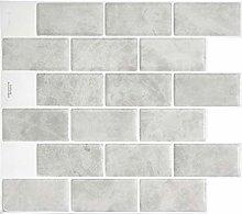 Smart Tiles Self Adhesive Wall Tiles - Subway
