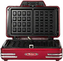Smart Worldwide Retro Double Waffle Maker Smart