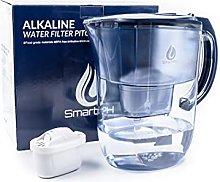SmartPH Alkaline Water Purifier Filter Jug - 3.8L,