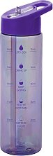 Smash Peacock Purple Water Tracker Bottle - 700ml