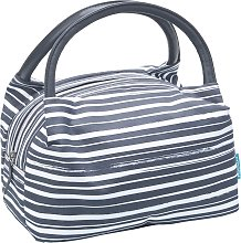 Smash Stripe Charcoal Paddington Lunch Bag