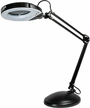SMD LED Desk Magnifier Task Lamp with Weighted