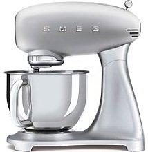 Smeg SMF02 Retro Silver Stand Mixer