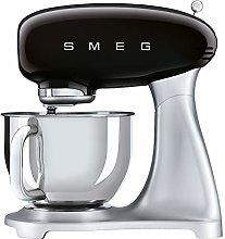 Smeg SMF02BLUK Stand Mixer 50's Retro Style with