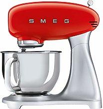 Smeg SMF02RDUK Stand Mixer 50's Retro Style with