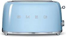 Smeg TSF02PBEU Toaster for Four Slices