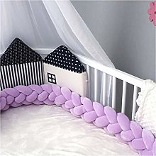 SMEJS Braided Crib Bumper Baby Room Decor Baby