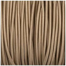 Smithery - Round Lighting Cable Beige Braided