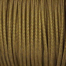 Smithery - Round Lighting Cable Black And Yellow