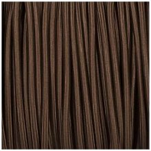 Smithery - Round Lighting Cable Brown Braided