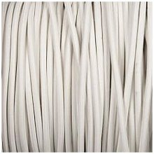 Smithery - Round Lighting Cable White Braided