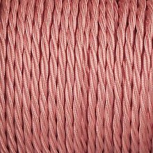 Smithery - Twisted Lighting Cable Baby Pink