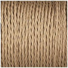 Smithery - Twisted Lighting Cable Beige Braided