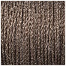 Smithery - Twisted Lighting Cable Brown Canvas