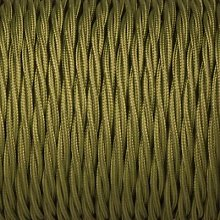 Smithery - Twisted Lighting Cable Cyprus Green