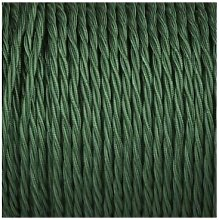 Smithery - Twisted Lighting Cable Forest Green